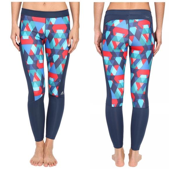 085f6f8d40c31 adidas Pants | Techfit Boost Long Tights Geo Triax Print | Poshmark